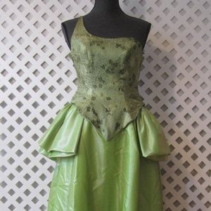 VTG Quinceanera Dress XS Prom Gown Ball Long Maxi